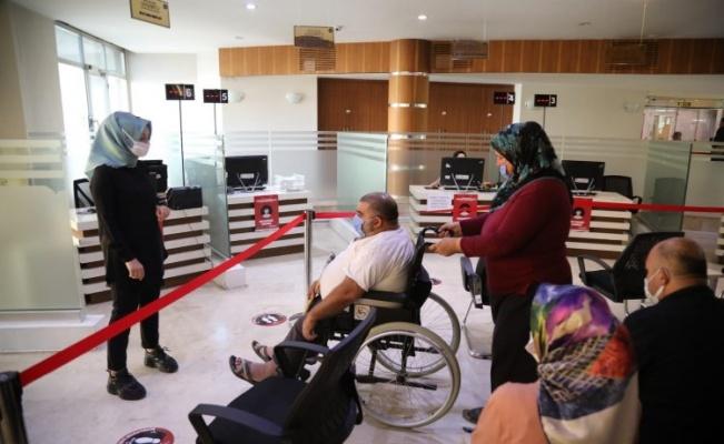 Gaziantep'te 120 Engelli vatandaşa istihdam