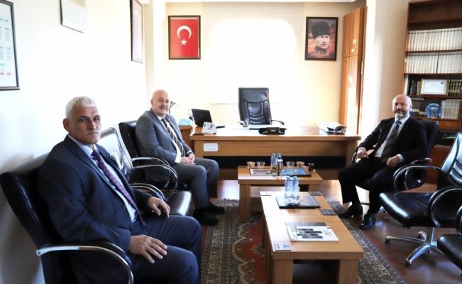 Hayrabolu Belediye Başkanı İnan, Müftü Karakaya'yı ziyaret etti