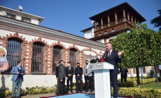İlim Yayma Vakfı Mütevelli Heyeti Başkanı Bilal Erdoğan, Kocaeli'de açılışa katıldı: