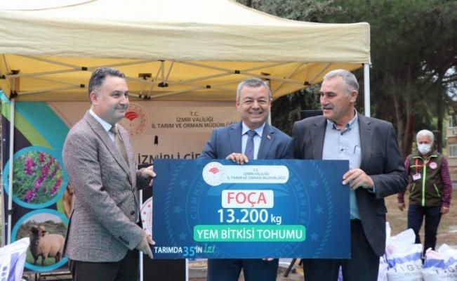 İzmir İl Tarım ve Orman Müdürlüğü üreticilere destek verdi