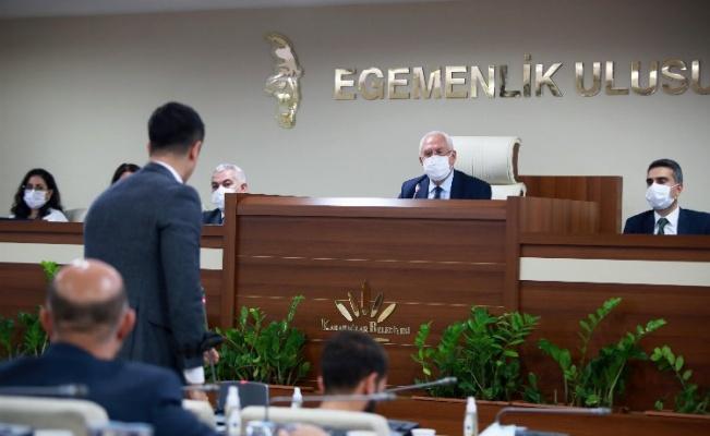 İzmir Karabağlar Belediyesi ilk meclis toplantısını yaptı