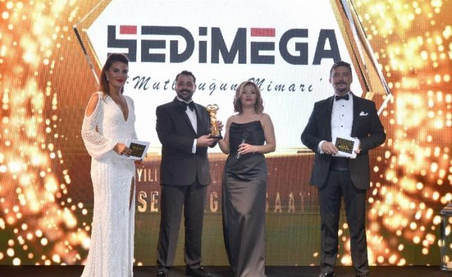 İzmir markası Sedimega'ya aynı yıl içinde iki ödül