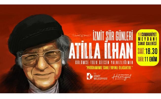 İzmit Şiir Günleri'nde Attila İlhan anılacak