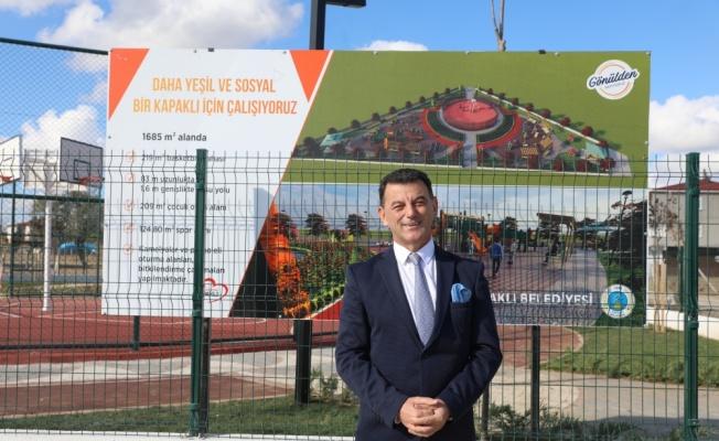 Kapaklı Belediye Başkanı Mustafa Çetin, çalışmaları inceledi