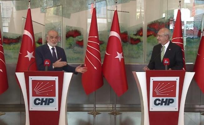 Karamollaoğlu, Kılıçdaroğlu ile görüştü