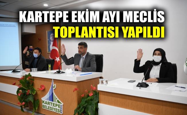 Kartepe Ekim Ayı Meclis toplantısı yapıldı