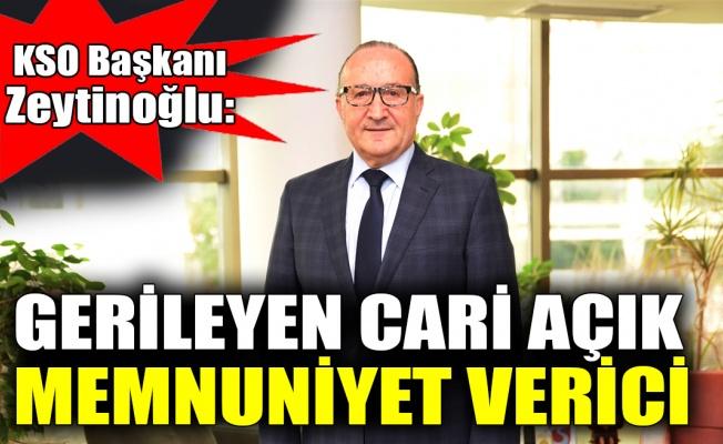 KSO Başkanı Zeytinoğlu'ndan ekonomik değerlendirmeler