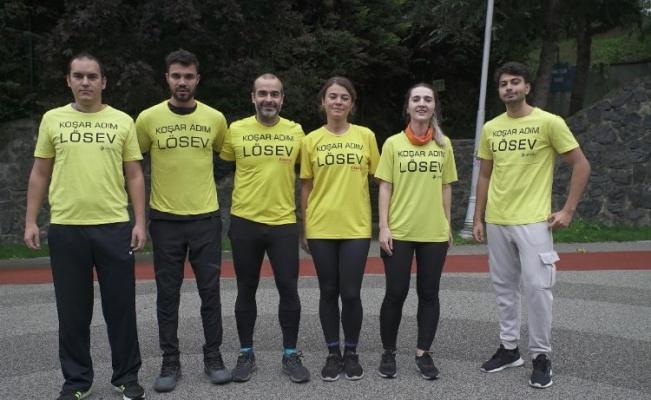 LÖSEV Gönüllüleri 43. İstanbul Maratonu'na hazırlanıyor