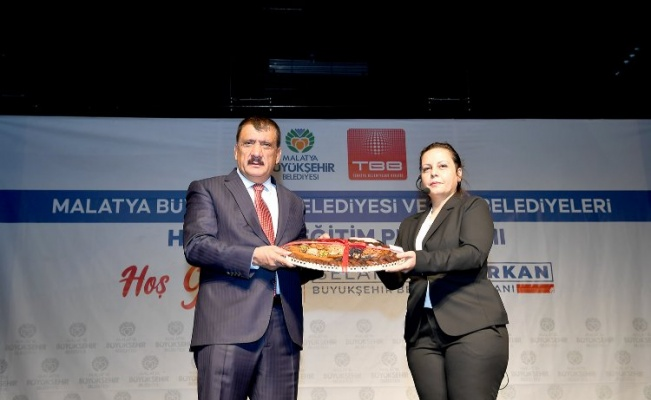 Malatya Büyükşehir'de hizmet içi eğitim devam ediyor