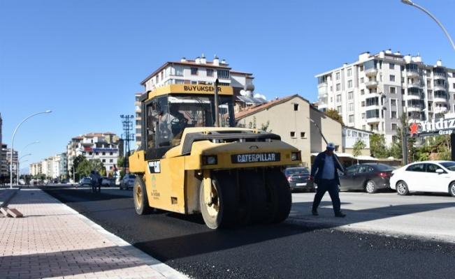 Malatya'da Güngör Caddesi 9 metreden 14 metreye çıkarıldı
