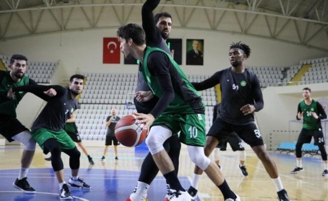 Manisa Büyükşehir Belediyespor Basketbol Takımı, mücadele için hazırlanıyor