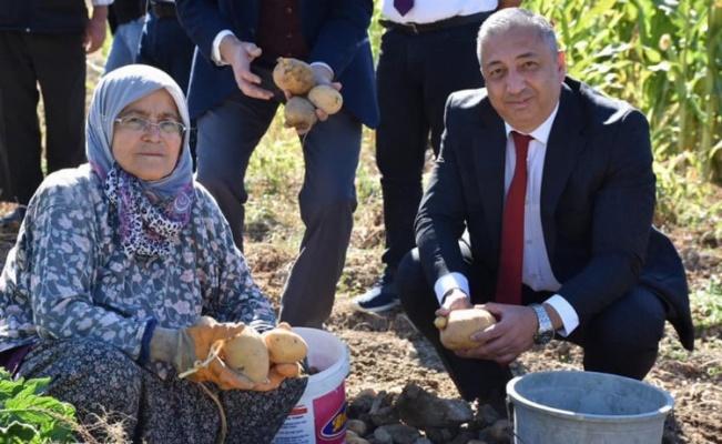 Niğde'de Niğşah patatesi üretici ile buluştu