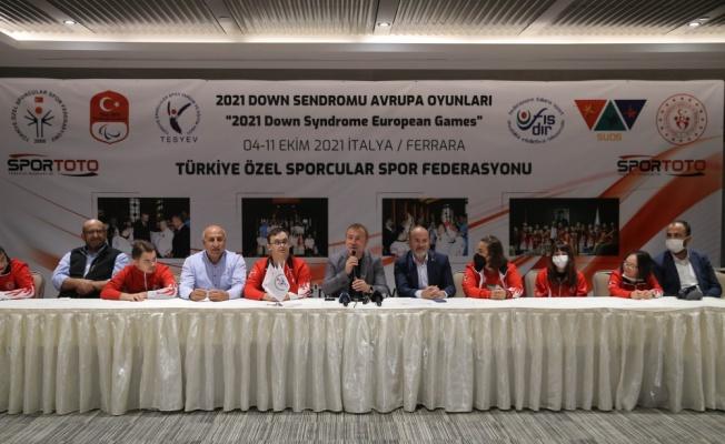 Özel sporcular, 2021 Down Sendromu Avrupa Şampiyonası'na hazır