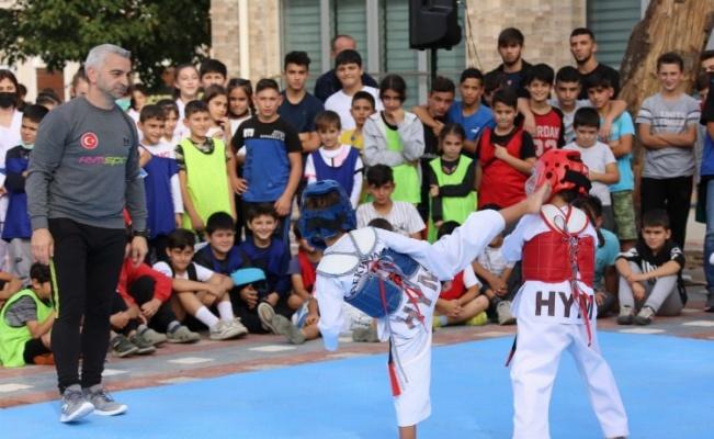 Sporun coşkusu Bursa Gürsu'da yaşandı