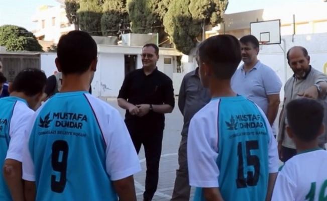 Suriye'nin geleceği öğrencilere Bursa Osmangazi eli