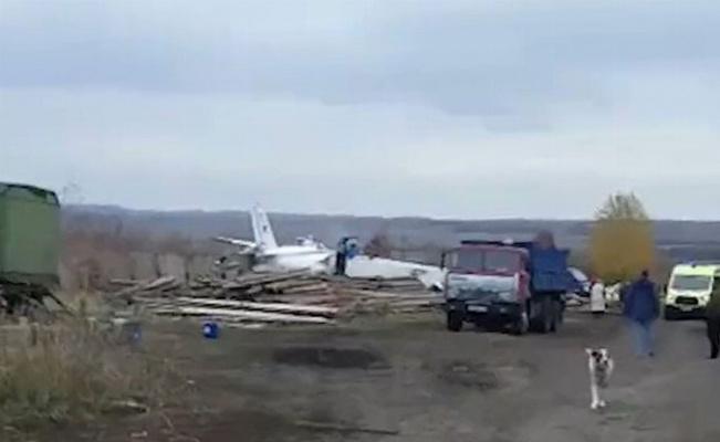 Tataristan'da uçak düştü! 19 ölü!