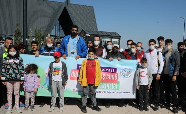 Yürüyüş Günü'nde Ali Dağı'nda keyifli mesai