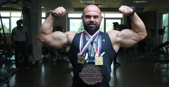 5 ayda 30 kilo verdi, dünya şampiyonu oldu