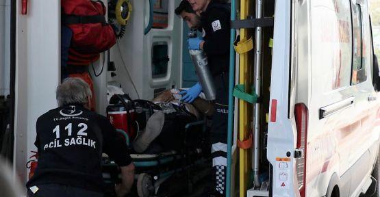 Ağabeyini silahla yaralayan kişi teslim oldu