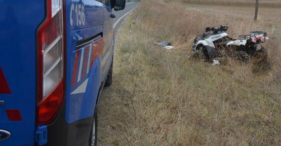 ATV aracı devrildi: 1 ölü
