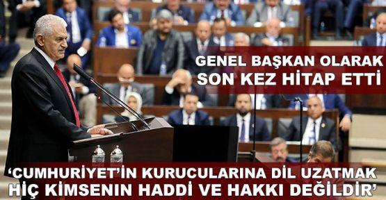 Başbakan Yıldırım'dan Atatürk'e hakarete tepki