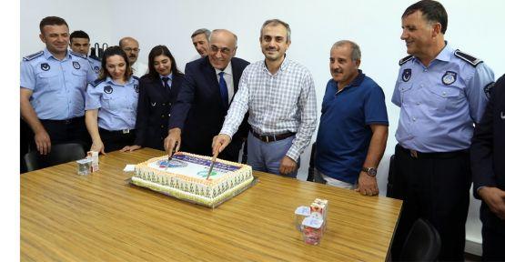 Başkan Çiftçi, Zabıta Haftası'nı kutladı