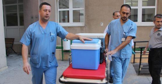 Beyin ölümü gerçekleşen hastanın organları bağışlandı