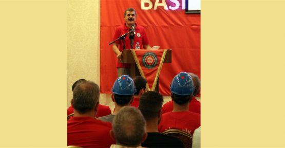 Birleşik Metal-İş Sendikası Gebze'de toplandı