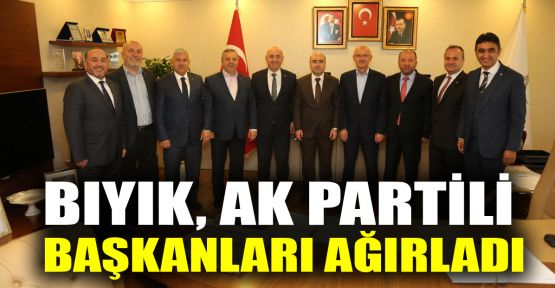 Bıyık, Ak Partili başkanları ağırladı