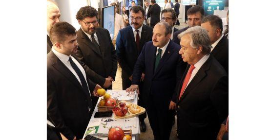 BM Genel Sekreteri Guterres ve Bakan Varank, Teknoloji Bankası'nda