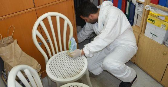 Böcek ve haşereler ilaçlandı