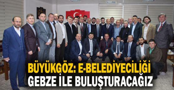 Büyükgöz: E-belediyeciliği Gebze ile buluşturacağız