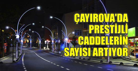 Çayırova'da prestijli caddelerin sayısı artıyor