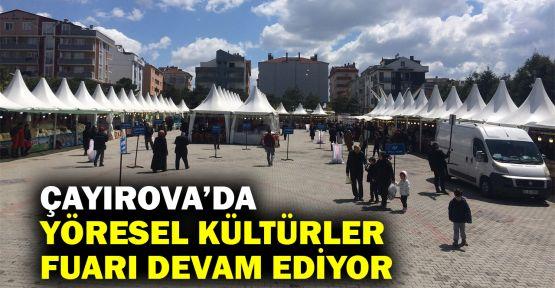 Çayırova'da Yöresel Kültürler Fuarı devam ediyor