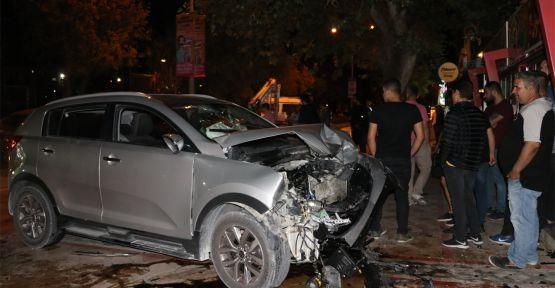 Cip ile otomobil çarpıştı: 7 yaralı