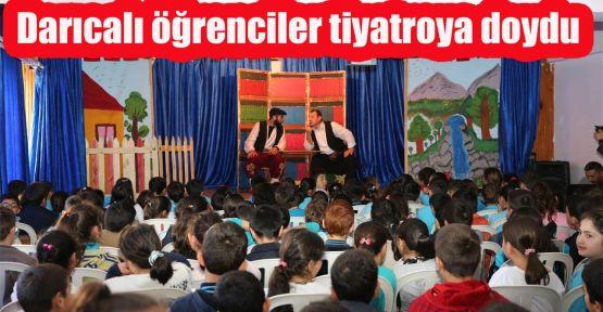 Darıcalı öğrenciler tiyatroya doydu