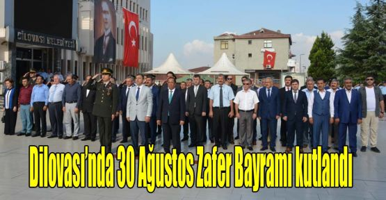 Dilovası'nda 30 Ağustos Zafer Bayramı kutlandı