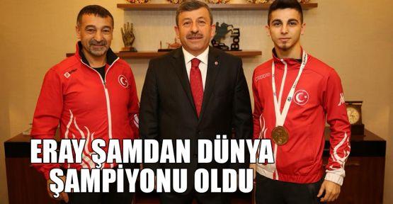 Eray Şamdan Dünya şampiyonu