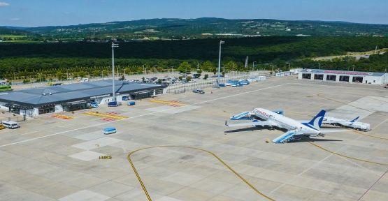Eylül ayında Kocaeli Cengiz Topel Havalimanı'nda 5.463 yolcuya hizmet verildi
