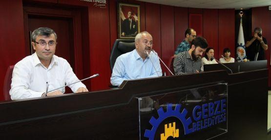 Gebze Belediye Meclisi 5 Kasım Salı günü toplanacak