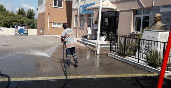 Gebze'de okullar yeni eğitim yılına hazır