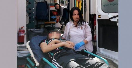 Gebze'de sırtından vurulan çocuk yaralandı