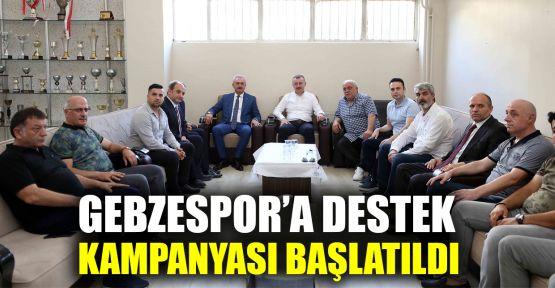 Gebzespor'a destek kampanyası başlatıldı