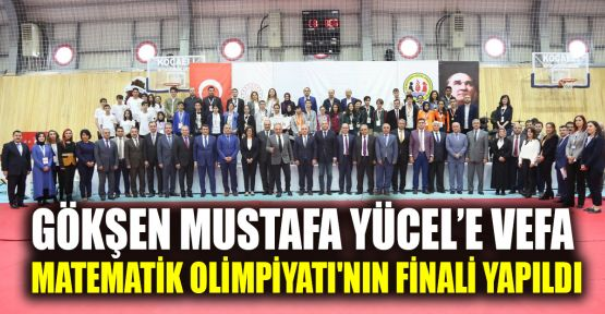 Gökşen Mustafa Yücel'e Vefa Matematik Olimpiyatı'nın finali yapıldı