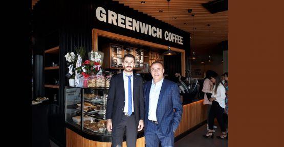 GREEENWICH Center Of Coffe açıldı