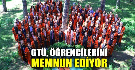 GTÜ'den öğrenciler üst düzeyde memnun