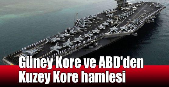 Güney Kore ve ABD'den Kuzey Kore hamlesi