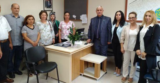 İYİ Parti Çayırova muhtarları ziyaret etti
