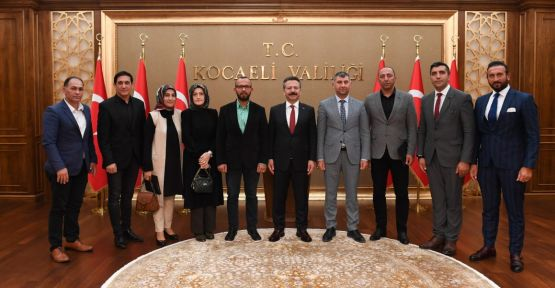 KAI Vakfı, Vali Aksoy ziyaret etti
