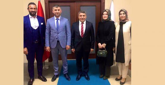 KAI Vakfı'ndan, Başkan Şayir'e davet